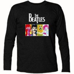 Футболка с длинным рукавом The Beatles Logo - FatLine