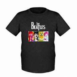Детская футболка The Beatles Logo - FatLine