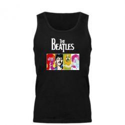 Мужская майка The Beatles Logo - FatLine