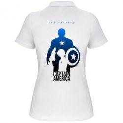 Женская футболка поло The Patriot - FatLine