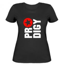 Женская футболка The Prodigy Star - FatLine