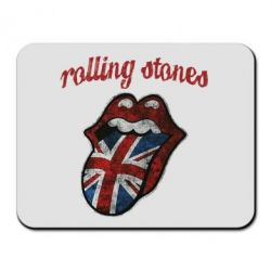 Коврик для мыши The Rolling Stones British flag