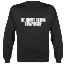 Реглан The Ultimate Fighting Championship - FatLine