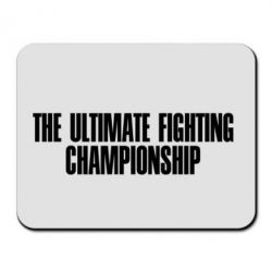 Коврик для мыши The Ultimate Fighting Championship - FatLine