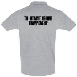 Футболка Поло The Ultimate Fighting Championship - FatLine