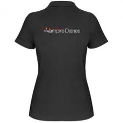 Женская футболка поло The Vampire Diaries Small