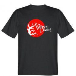 Мужская футболка The Vampire Diaries - FatLine