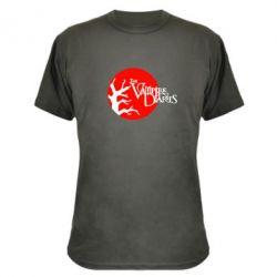 Камуфляжная футболка The Vampire Diaries - FatLine