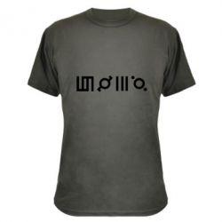 Камуфляжная футболка Thirty seconds to Mars Glyphs