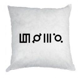 Подушка Thirty seconds to Mars Glyphs