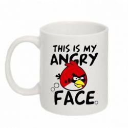 Кружка 320ml This is my angry face - FatLine
