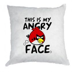 Подушка This is my angry face - FatLine