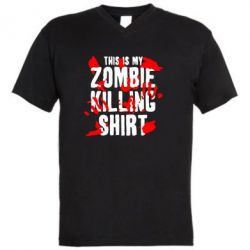 ������� ��������  � V-�������� ������� This is my zombie killing shirt