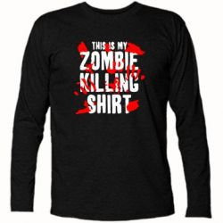 �������� � ������� ������� This is my zombie killing shirt