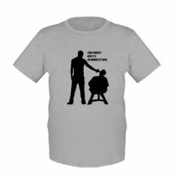 Детская футболка Three minutes.