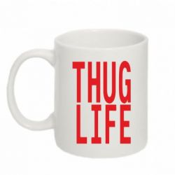 Кружка 320ml thug life - FatLine