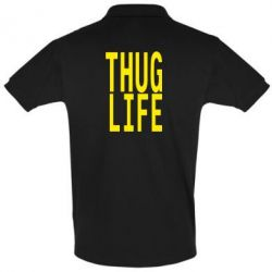 Футболка Поло thug life - FatLine