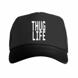 Кепка-тракер thug life - FatLine