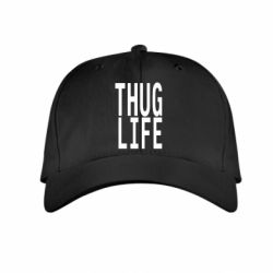 Детская кепка thug life - FatLine