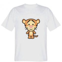 Мужская футболка тигрюля - FatLine