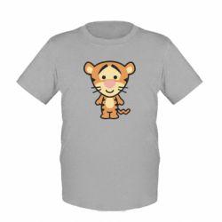 Детская футболка тигрюля - FatLine