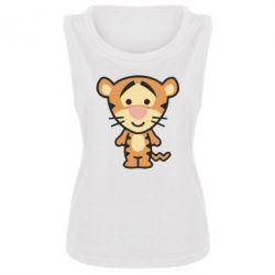 Женская майка тигрюля - FatLine