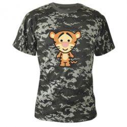 Камуфляжная футболка тигрюля - FatLine