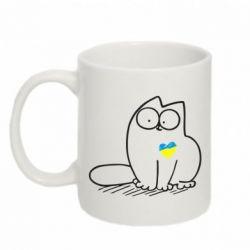 Кружка 320ml Типовий український кіт - FatLine