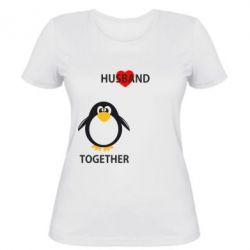 Женская футболка Together forever2 - FatLine