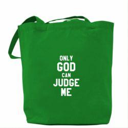 Сумка Только Бог может судить меня