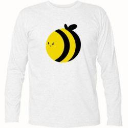 Футболка с длинным рукавом толстая пчелка - FatLine