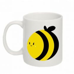 Кружка 320ml толстая пчелка - FatLine