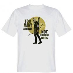 Мужская футболка Too many arrows, not enought orcs - FatLine