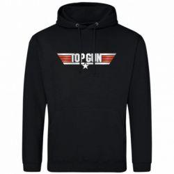 Мужская толстовка Top Gun Logo
