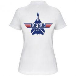Женская футболка поло Top Gun