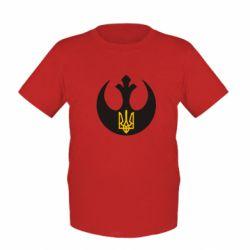 Детская футболка Трезубец - FatLine