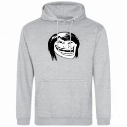 Толстовка Trollface girl - FatLine