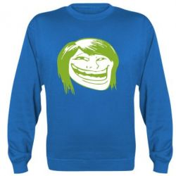 Реглан Trollface girl - FatLine