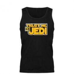 Мужская майка Trust me, I'm a Jedi - FatLine