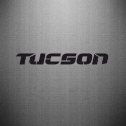 Наклейка Tucson - FatLine