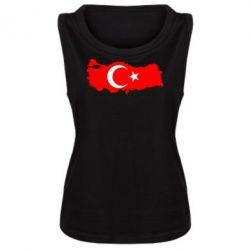 Женская майка Turkey - FatLine