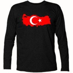 Футболка с длинным рукавом Turkey - FatLine