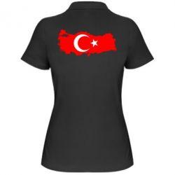 Женская футболка поло Turkey - FatLine