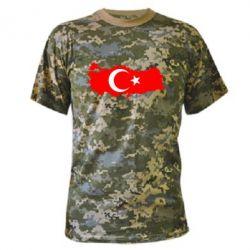 Камуфляжная футболка Turkey - FatLine