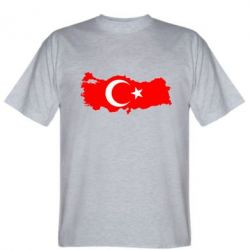 Мужская футболка Turkey - FatLine