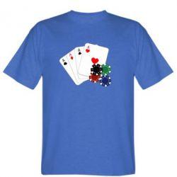 Мужская футболка Тузы - FatLine