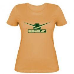 Женская футболка UAZ Лого - FatLine