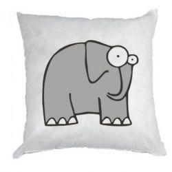 Подушка удивленный слон - FatLine