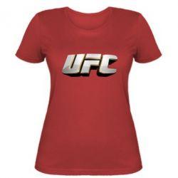 Женская футболка UFC 3D - FatLine