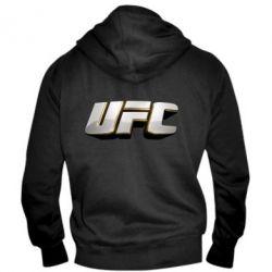Мужская толстовка на молнии UFC 3D - FatLine